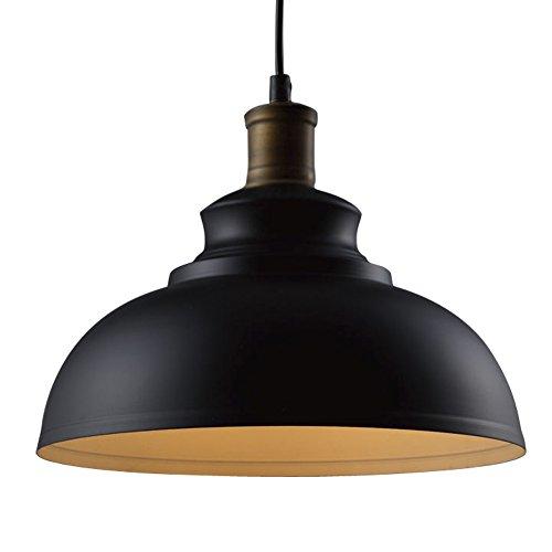 baycheer industrieleuchte pendelleuchte aus schwarz metall. Black Bedroom Furniture Sets. Home Design Ideas