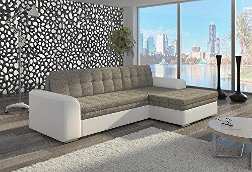 Couch Couchgarnitur Sofa Polsterecke CF Wohnlandschaft Schlaffunktion
