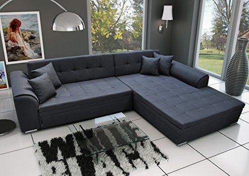 Couch Couchgarnitur Sofa Polsterecke SORENTO Wohnlandschaft Schlaffunktion