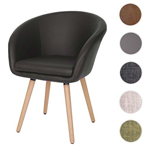 esszimmerstuhl malm t633 stuhl lehnstuhl retro 50er jahre design m bel24. Black Bedroom Furniture Sets. Home Design Ideas