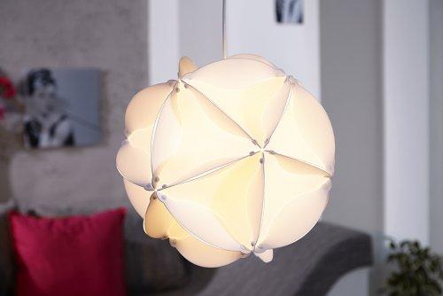 m bel24 invicta interior belajio futuristische design hngeleuchte weiss 40cm 0. Black Bedroom Furniture Sets. Home Design Ideas