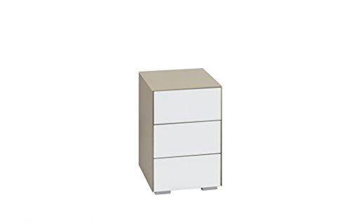 nachtkommode nachttisch maja in verschiedenen farben mit schubladen 40 7x60 1x46 2cm. Black Bedroom Furniture Sets. Home Design Ideas