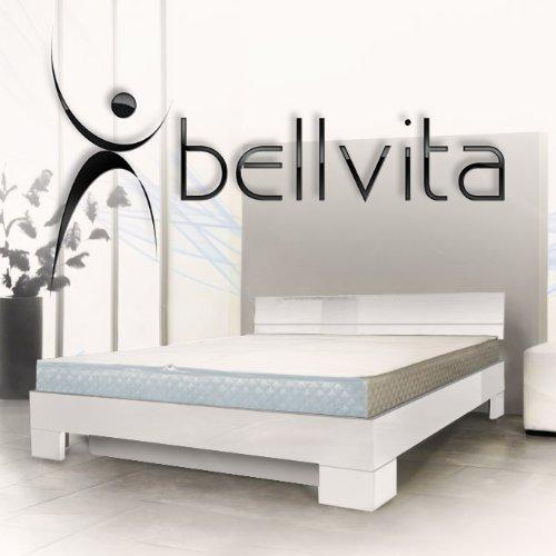 ORIGINAL bellvita Mesamoll II Wasserbett inkl. Hochglanz-Bettrahmen mit Aufbau durch Fachpersonal, 180 cm x 200 cm