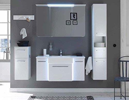 PELIPAL SOLITAIRE 7030 3 tlg. Badmöbel Set / Waschtisch / Unterschrank / Spiegelschrank / Comfort E
