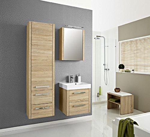Pelipal Lardo 3 tlg. Badmöbel Set / Waschtisch / Unterschrank / Spiegelschrank