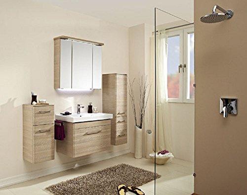 Pelipal Pineo 3 tlg. Badmöbel Set / Waschtisch / Unterschrank / Spiegelschrank