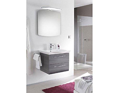 Pelipal Vialo 3 tlg. Badmöbel Set / Waschtisch / Unterschrank / Flächenspiegel