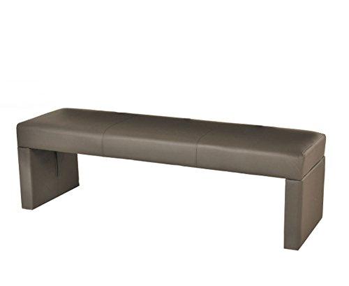 SAM® Esszimmer Sitzbank Nusco in muddy Bank 160 cm schlicht pflegeleichte Oberfläche angenehmer Sitzkomfort