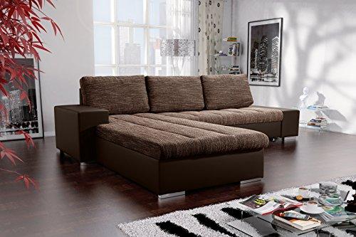Sofa Couchgarnitur Couch Sofagarnitur VERONA 8 L Polstergarnitur Polsterecke Wohnlandschaft mit Schlaffunktion