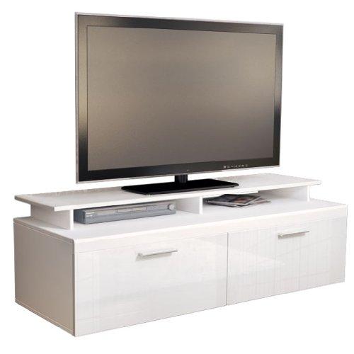 TV Board Lowboard Atlanta Weiß