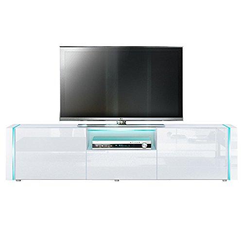 TV Board Lowboard Marino +V2 Weiß