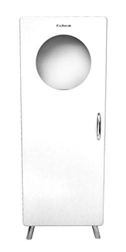 Tenzo 4901-001 Cobra Designer Halbvitrine, 150 x 56 x 43 cm, MDF lackiert, weiß
