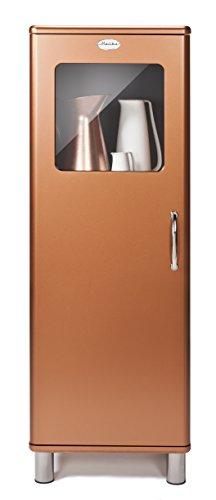 Tenzo 5011-089 Malibu Deluxe - Designer Halbvitrine, kupfer metallic, MDF lackiert, 143 x 50 x 41 cm