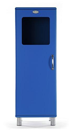 Tenzo 5111-003 Malibu Designer Halbvitrine Holz, blau, 41 x 50 x 143 cm