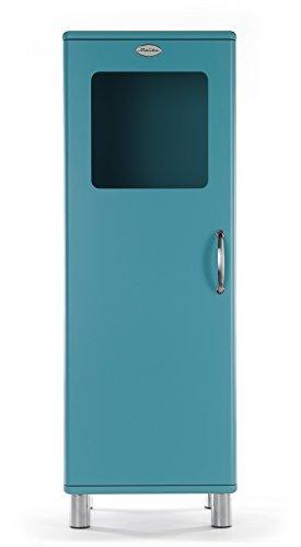 Tenzo 5111-016 Malibu Designer Halbvitrine, MDF lackiert, 143 x 50 x 41 cm, ocean