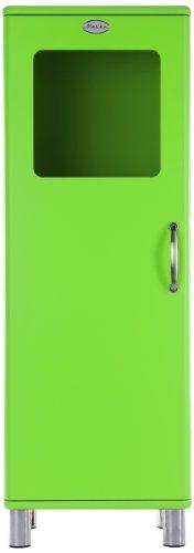 Tenzo 5111-021 Malibu - Designer Halbvitrine 143 x 50 x 41 cm, MDF lackiert, grün
