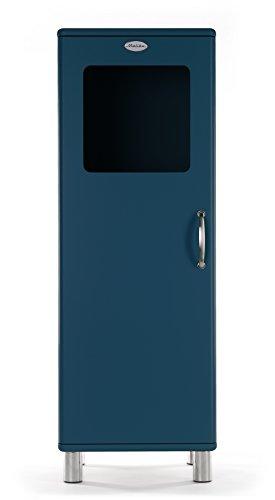 Tenzo 5111-023 Malibu Designer Halbvitrine Holz, petrol, 41 x 50 x 143 cm