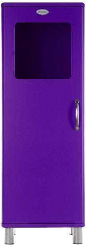 Tenzo 5111-040 Malibu - Designer Halbvitrine 143 x 50 x 41 cm, MDF lackiert, violett