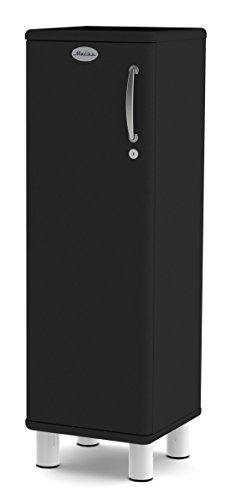 Tenzo 5121-033 Malibu Designer Schrank niedrig, abschließbar, 111 x 35 x 34 cm, MDF lackiert, schwarz