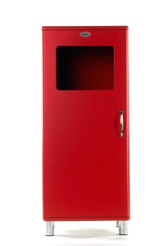 Vitrine / Schrank Malibu 5101 in rot von Tenzo