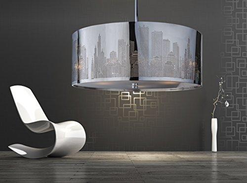 XXL Skyline Luxus Hängelampe | Hängeleuchte New York | Deckenlampe ...