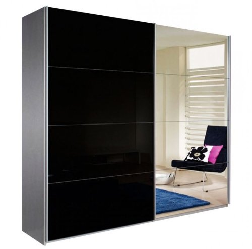 rauch schwebet renschrank mit spiegel m bel24. Black Bedroom Furniture Sets. Home Design Ideas