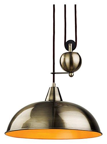 2309AB Firstlight Hängeleuchte Edison Screw, E27, 60 W, Jahrhundert Aufstieg und Fall Pendelleuchte-Parent