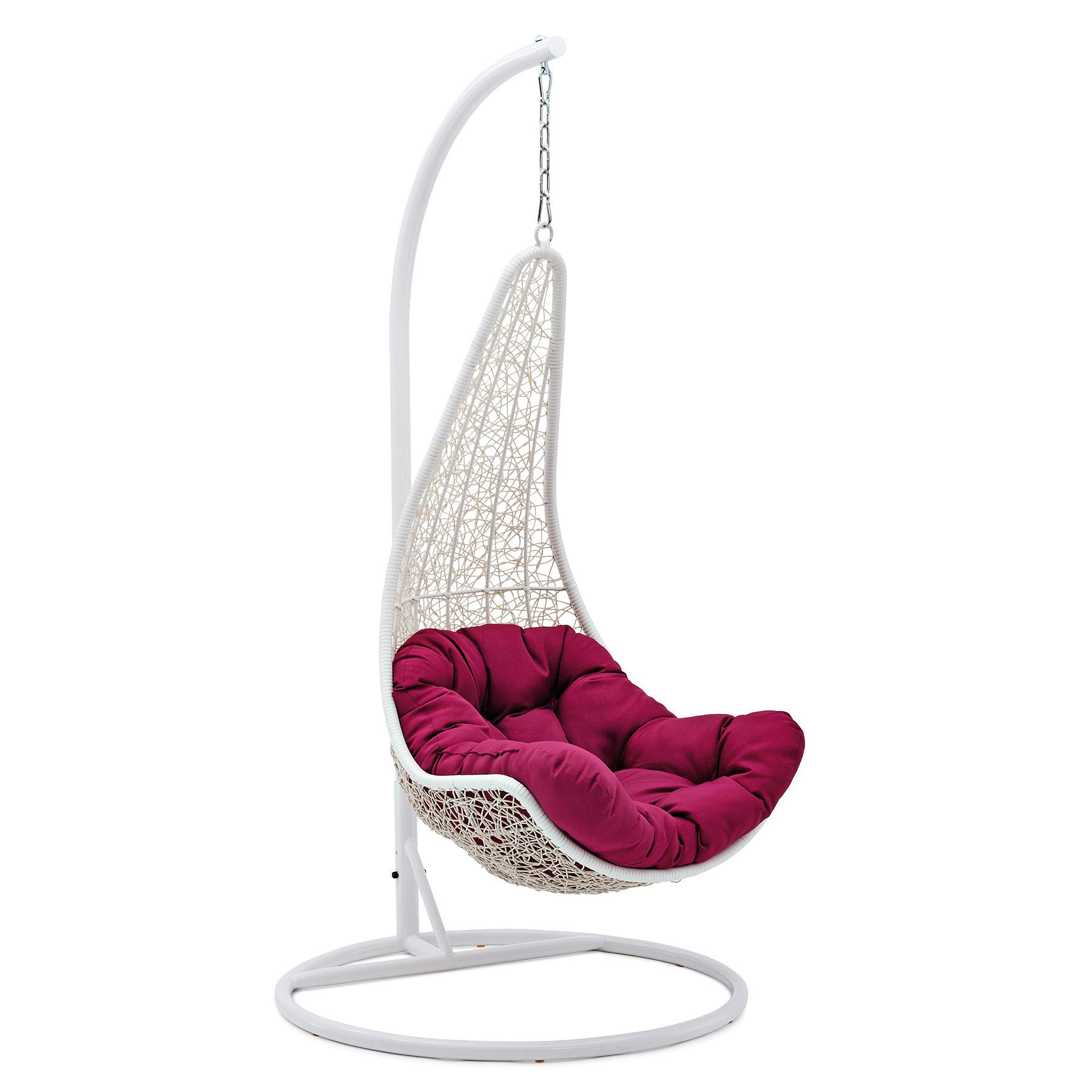 belardo minois h ngesessel weiss m bel24. Black Bedroom Furniture Sets. Home Design Ideas