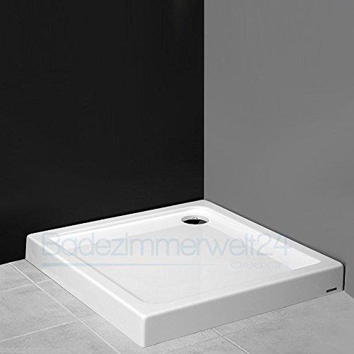 AQUABAD® Duschwanne/Duschtasse/Duschbecken Rechteck/Quadrat 80x80x14cm