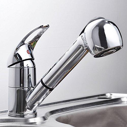 Baytter Einhebel Waschtischarmatur Wasserhahn Spültisch Küche Waschtisch Armatur Wasserkran Waschenbecken
