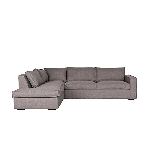 Eckcouch in Taupe modern Pharao24