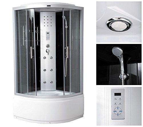 home deluxe elegance plus duschtempel inkl komplettem zubehr 0 m bel24. Black Bedroom Furniture Sets. Home Design Ideas
