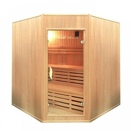 Home Deluxe Relax XL BIG Sauna, inkl. Harvia Saunaofen und komplettem Zubehör