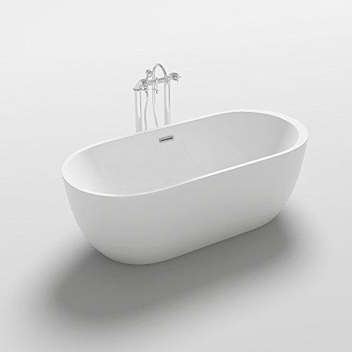 Home Deluxe freistehende Design Badewanne Codo