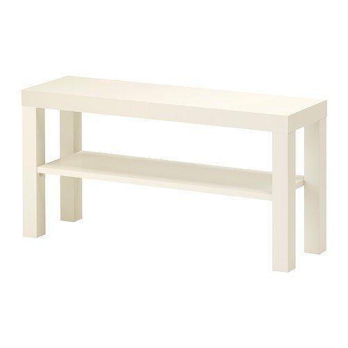 IKEA TV-Bank 'LACK' 90x26x45cm Beistelltisch in WEISS - mit Unterfach