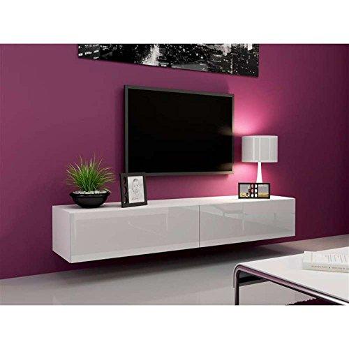 JUSThome Vago Lowboard TV-Board TV-Möbel 180 cm große Farbauswahl