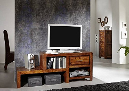 lackiert palisander holz m bel lowboard massivm bel life honey sheesham metro life 116 m bel24. Black Bedroom Furniture Sets. Home Design Ideas