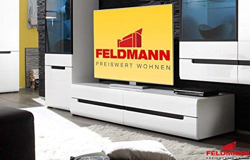 lowboard tv element mit schubk sten 423249 wei hochglanz 180cm m bel24. Black Bedroom Furniture Sets. Home Design Ideas