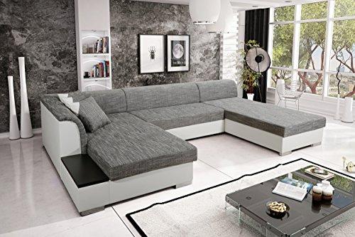 Sofa Couchgarnitur Couch Sofagarnitur KRETA 4 U Polstergarnitur Polsterecke Wohnlandschaft mit Schlaffunktion