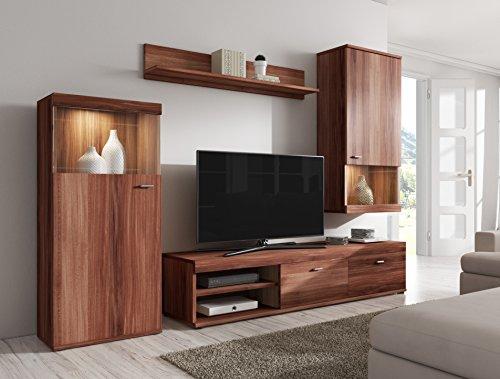 TV-Element TV Schrank Ständer Wohnwand Entertainment Einheit Elsa