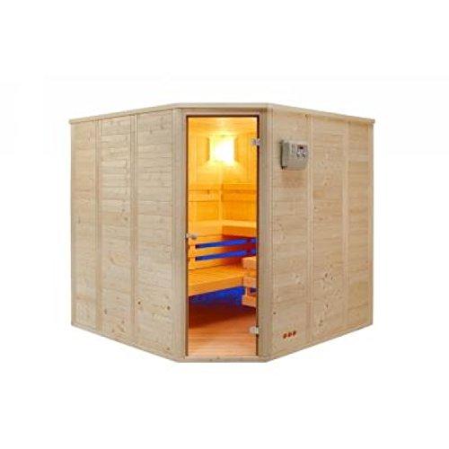Vitalhome Sauna Topan 209 x 209 cm Eckeinstieg