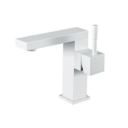 Kurzer Waschtischarmatur Einhebelmischer-Waschtischbatterie Bad Armatur Wasserhahn für Waschbecken