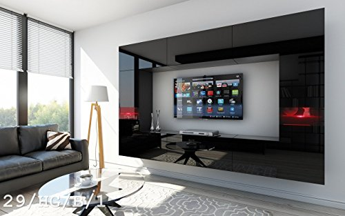 future 29 wohnwand anbauwand wand schrank tv schrank wohnzimmerschrank wohnzimmer hochglanz wei. Black Bedroom Furniture Sets. Home Design Ideas