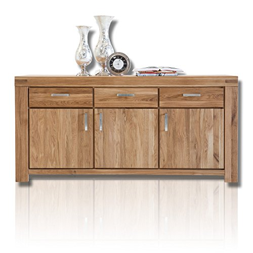 roller sideboard kira wildeiche massiv ge lt m bel24. Black Bedroom Furniture Sets. Home Design Ideas