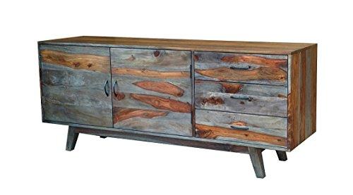 """Sideboard 167x70cm """"Montana"""" Sheesham lackiert/grau"""