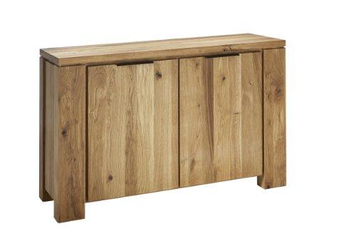 Sideboard Oviedo 2-türig Wildeiche massiv Breite 130 cm