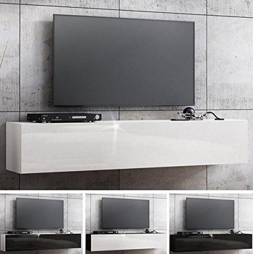 TV Lowboard Hängeboard HOCHGLANZ Board Schrank Tisch 160cm