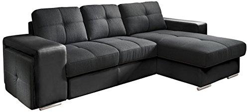 cotta c209660 c310 h360 polsterecke mit schlaffunktion und bettkasten 278 x 157 cm kunstleder. Black Bedroom Furniture Sets. Home Design Ideas
