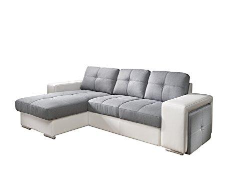 cotta c209661 c311 d200 polsterecke mit schlaffunktion und bettkasten kunstleder 157 x 278 cm. Black Bedroom Furniture Sets. Home Design Ideas
