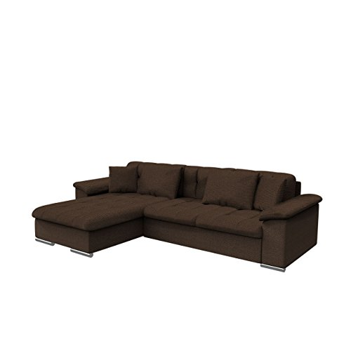 Gro es design ecksofa diana sale eckcouch mit bettkasten for Eckcouch sale
